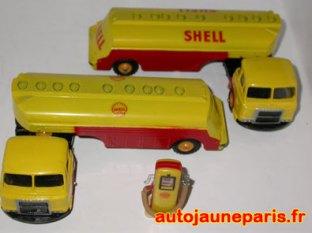 Citerne Saviem Shell C-I-J
