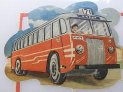 Bus  Volvo en pleine action
