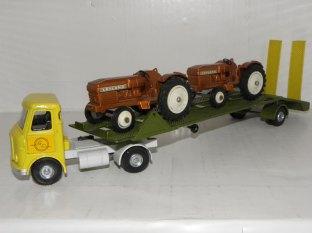 Dinky Toys prototype AEC avec tracteurs Leyland
