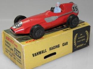Vanwall Nicky Toys