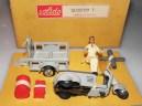 Solido Lambretta moins fréquent de couleur gris