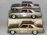 Solido Lancia Flaminia avec phares moulés, jantes en acier et volant à trois branches