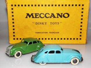 "Dinky Toys France Chrysler Airflow avec pneus ""Dunlop"""