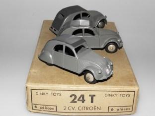 Dinky Toys citroën 2cv 1 feux variantes moins fréquentes