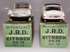 JRD Citroën DS19 face avant et arrière
