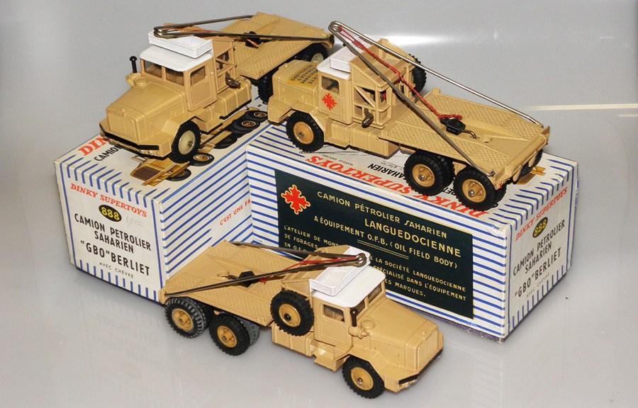 Les Dinky Toys Berliet GBO saharien