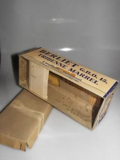 Quiralu Berliet tribenne avec sa boîte et sa notice