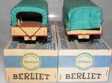 Quiralu Berliet GBO bâché (bâche avec ou sans rabats)