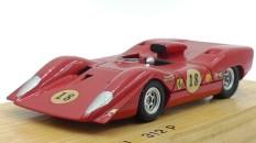 Dinky Toys Ferrari 312P prototype en bois version essais préliminaires