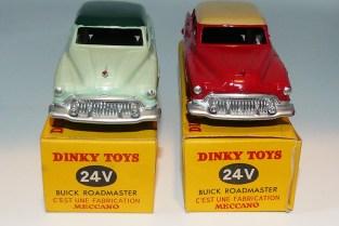 Dinky-toys Buick Roadmaster essais de couleur