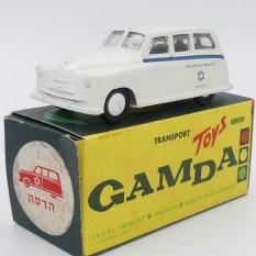 "Gamda Standard Vanguard ambulance ""Hadassah medical organisation Jérusalem"""