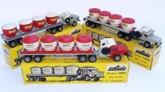 """Solido Unic Sahara tracteurs semi remorque avec cuves """"ciment transport en vrac"""""""