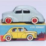 C-I-J Renault 4cv 6barres jantes en plastique