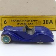 Dinky Toys prototype bois Frazer Nash