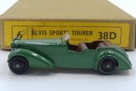 Dinky Toys 38 D Alvis sport premier type