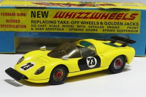 Corgi Toys Ferrari Dino 206 Whizzwheels !
