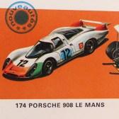 Solido Porsche 908L vainqueur 1000Ks Paris