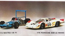 Solido catalogue Porsche 908 L Le mans 1969