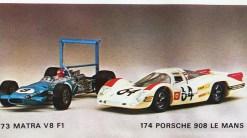 Solido catalogue Porsche 908 L Le mans 1969