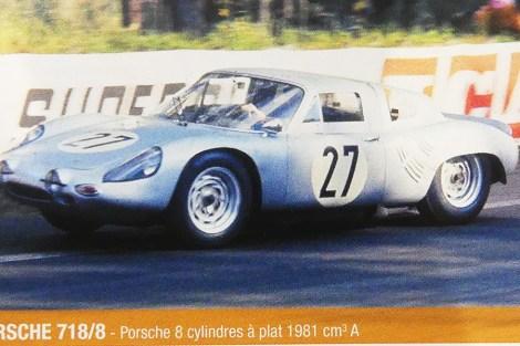 Porsche 718/8 Le Mans 1963