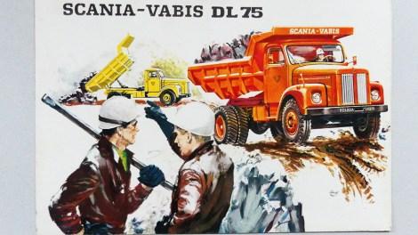 Publicité pour Scania