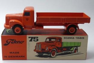"Tekno Scania 76 ridelles striées ""Nordisk Diesel"""