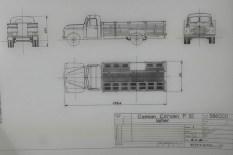 Dinky Toys plan du Citroën P55 laitier