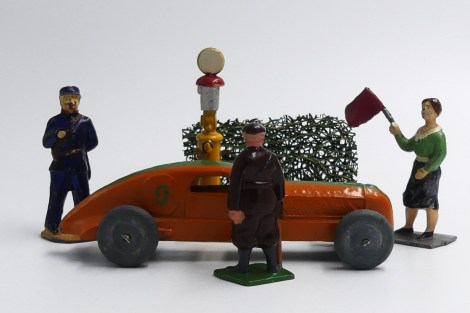Dinky Toys Delahaye de record au ravitaillement