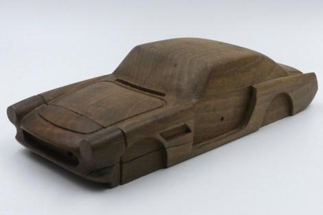 Solido Ferrari 250GT 2+2 ébauche en bois