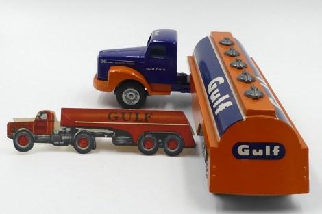"""Tekno Scania 76 semi remorque citerne""""Gulf"""""""