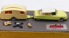 Solido coffret Junior avec Citroën DS19 et caravane