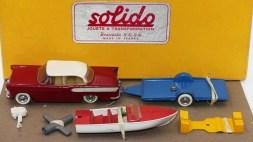 Solido coffret Junior avec Simca Chambord et hors-bord