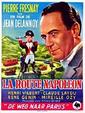 """L'affiche du film """"La route Napoleon"""""""