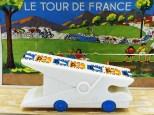 """France"" pince à linge ""Uni Blanc"""