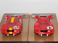 AMR Ferrari 330P4 24 heures du Mans 1967 écurie Francorchamps et usine