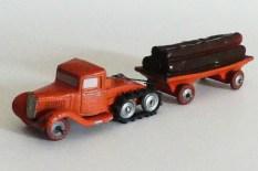 """""""jouets Citroën"""" Citroën P108 avec remorque plateau fardier"""