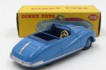 Dinky Toys Austin Atlantic intérieur bleu foncé et jantes bleu
