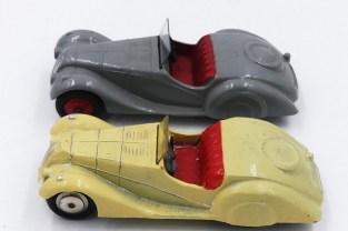 Lemeco et Dinky Toys Bristol et Frazer Nash