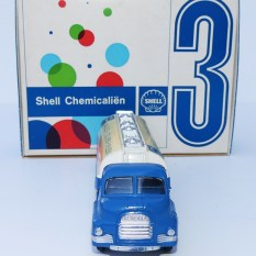 "Corgi Toys Bedford type S tracteur semi remorque citerne""Shell chemicals"""