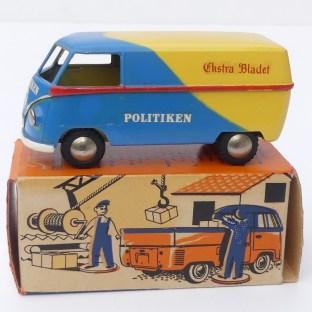 """Tekno Volkswagen van """" Politiken"""" au 1/45"""