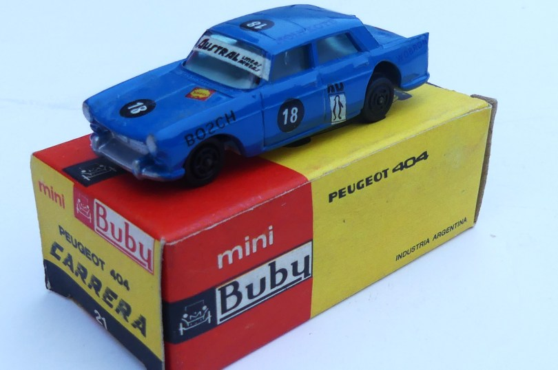 Buby Peugeot 404 course 1/60