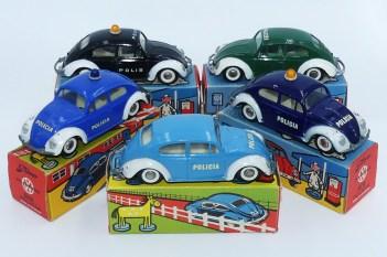 Tekno Volkswagen 1200'63 versions police