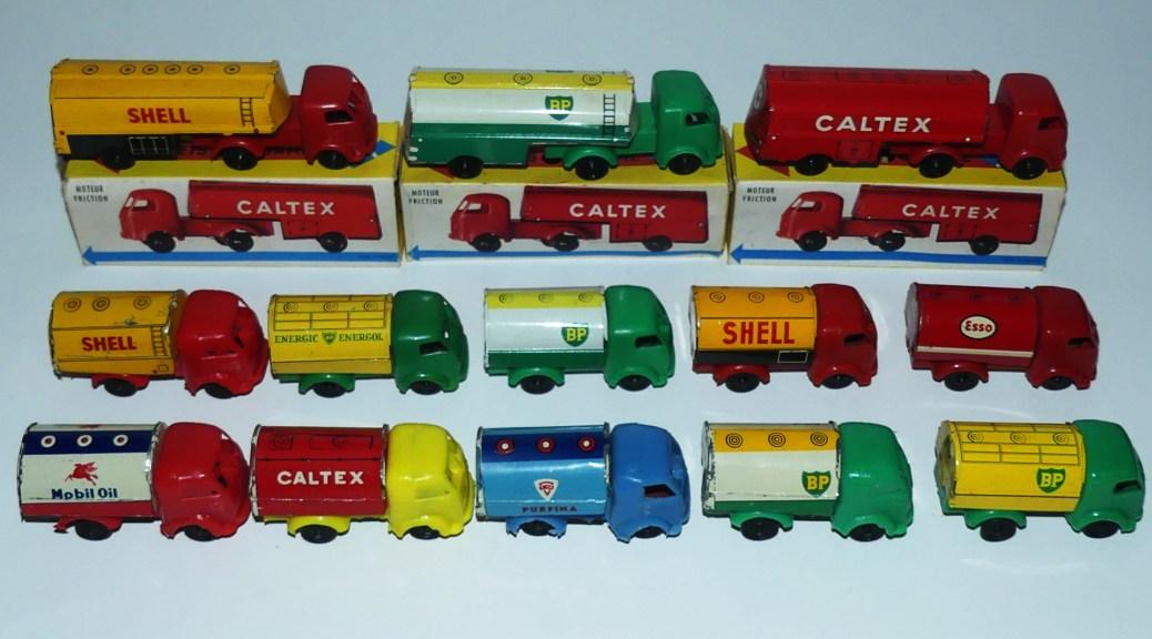 ensemble de Sésame Simca Cargo citernes