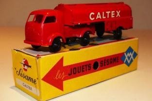 """Sésame France Simca Cargo semi citerne """"Caltex"""""""