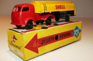 """Sésame France Simca Cargo semi citerne """"Shell"""""""