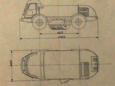 Dinky Toys LMV plan du 03/02/56 au 1/60 référence 51