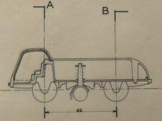 Dinky Toys LMV plan du 28/07/58