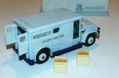 """Dinky Toys GMC fourgon blindé """"Brink's"""" avec boîte promotionnelle"""