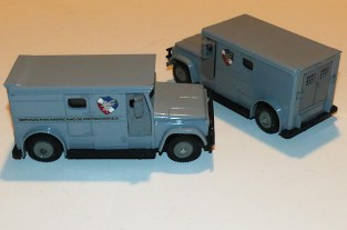"Dinky Toys GMC fourgon blindé ""Brink's"" versions mexicaines"