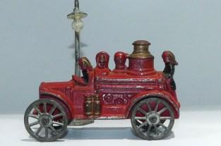 Savoye camion pompier avec chaudière